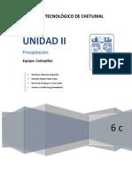Unidad II - Precipitación