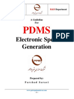 Pdms Catalogue Generation