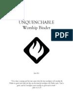 Worship Binder