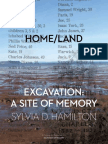 HOME LAND - Excavation