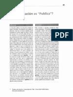 Atria - Que Educacion Es Publica -CPU Estudios Sociales 25.08.09