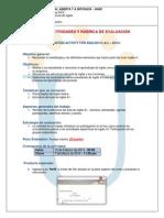 Guia Actividad de Reconocimiento Ingles A1 2014-1-2