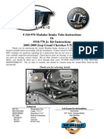 AirAid MIT Install Jeep WK Hemi