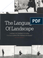 Whats Landscape,The Language of Landscape,Anne WhistonsSpirn