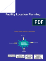 Chapter 4 Facility Location Planning