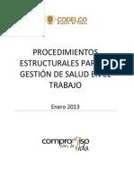 4 - Procedimiento Estructural para la Gestión del EST 2013