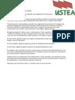 2013.2014.Ustea.prevision Llamamientos Bolsa
