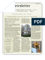 Newsletter 2009