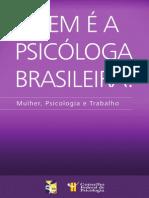 Quem e a Psicologa Brasileira (Livro)