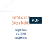 Introduction ToGlobus Toolkit 4