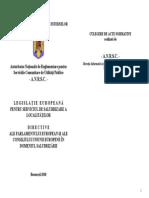 2010 CULEGERE - Directive in Domeniul Salubrizarii Final