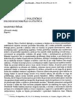 Pojam zakona u političkoj filozofiji Nikole Gučetića