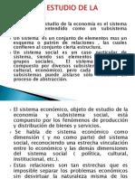 SESION N° 4- OBJETO DE ESTUDIO DE LA ECONOMIA