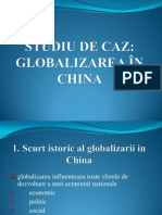 Studiu de Caz China