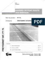 Joint Pont Ft 75