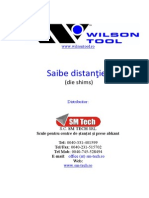 Saibe Distantier Adaos - Wilson Tool Die Shims SM