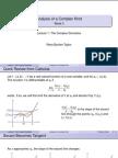 Complex Derivatives