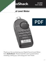 Sound Pressure Meter 3302055 PM En