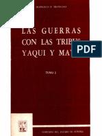 Las Guerras Tribus Yaqui MayoI