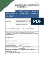 Informacion General de La Institucion Educativa