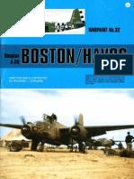 (Warpaint Series No.32) Douglas A-20 Boston/Havoc