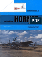 (Warpaint Series No.19) de Havilland Hornet and Sea Hornet