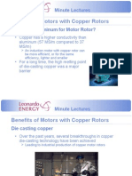 Introducing Copper Motor Rotor technology