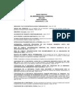 Indice Tematico de Sentencias Civiles 2006