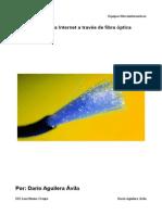 conexión fibra óptica