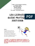 licences2007-2008