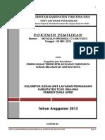 Dokumen Pemilihan Rtbl Pariwisata
