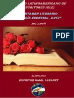 Ingel Lazaret - Antologia - Poesía Esencial 2013 - TAHIEL ediciones