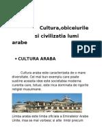 42462639 Cultura Obiceiurile Si Traditiile Lumi Arabe