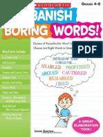 Banish Boring Words - Scholastic