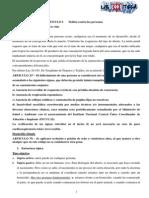 4° AÑO - Penal II- Resumen Completo Dalessio - Agrupación ROP
