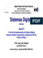 08 - Formas de Implementação de Sistemas Digitais