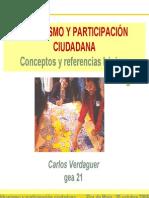 Verdaguer - Urbanismo y participación ciudadana
