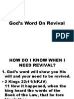 gods word on revival