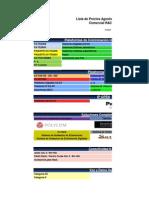 Lista de Precios Distribuidores 08-12