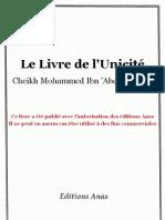KitabTawhid - Livre de L'unicite Divine