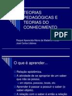 Teorias Pedagogicas e Teorias Do Conhecimento