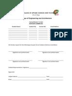 Cea-tps Form 3