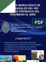 Hidrología en UNP 2013