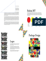 Product Redesign Booklet 5 Pg