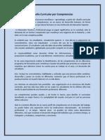 Diseño Curricular por Competencias (SINTESIS)