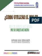 Tutorial Como Usar PRO-II-Planta de Gas