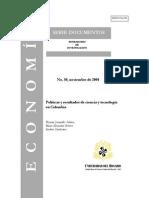 Ciencia Tecnologia en Colombia