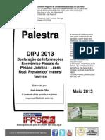 DIPJ 2013 Joaquim Ciclo 0605