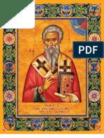 Liturgy of St. James (Eliz. English) - Byz. notation