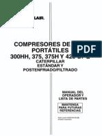 MANUAL ESPAÑOL COMPRESOR SULLAIR 375H